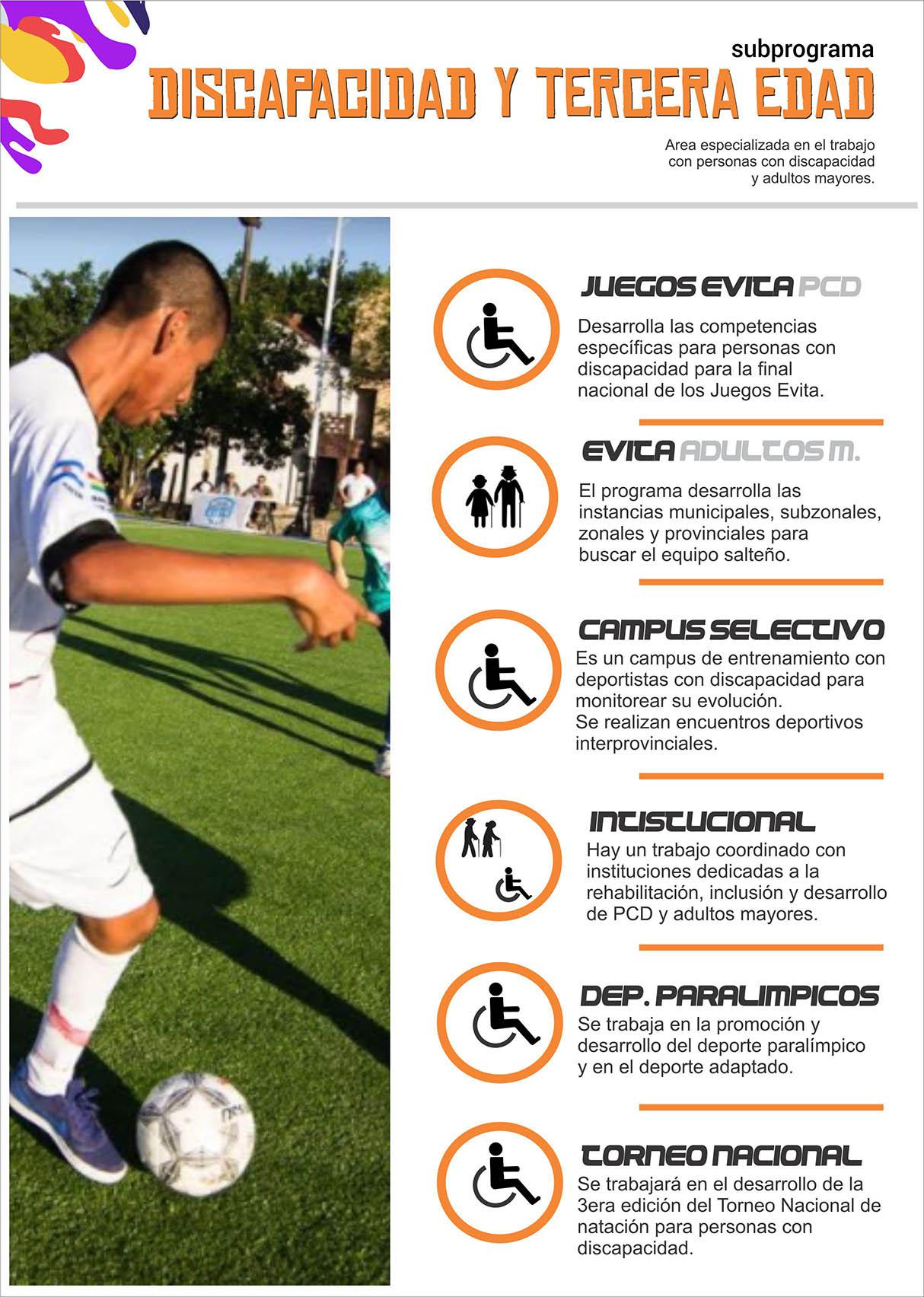 Programa Discapacidad y Tercera Edad 1