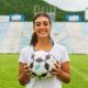 Guadalupe Giménez, jugadora del Club Boca Juniors